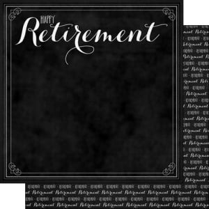 Scrapbook Customs - Retirement Collection - 12 x 12 Double Sided Paper ...