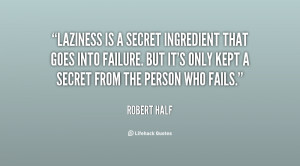 Quotes About Laziness
