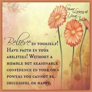 Believe and faith
