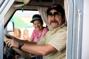 ... and Nick Offerman in Warner Bros. Pictures' We're the Millers (2013