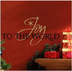1150 joy to the world christmas decal show the christmas spirit to all ...