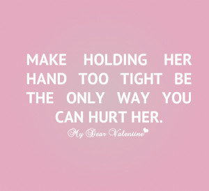 funny love hurts quotes make holding her hand