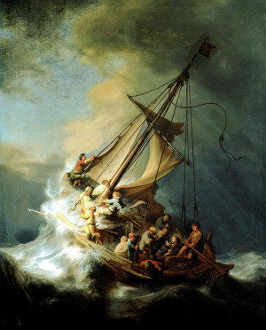 With Jesus in the Storm: Rembrandt's Meditation