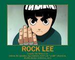 Rock Lee, Bruce Lee by ~ NewMystery356