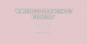 Etta James Love Quote