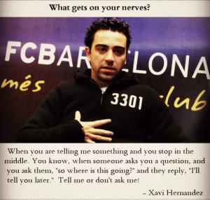 Xavi Hernandez Quotes
