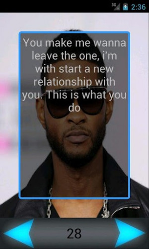 Usher Quotes From Songs Screenshots usher quotes