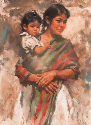 Shriya Das - Mother and child