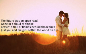 jake owen - settin the world on fire
