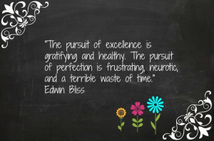 The pursuit of excellence Quotes