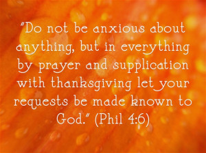 Important Bible Verses About Stress or Anxiety