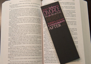 Outlander Quote Bookmark