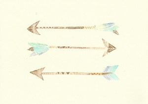 Displaying 20> Images For - Feather Arrow Art...