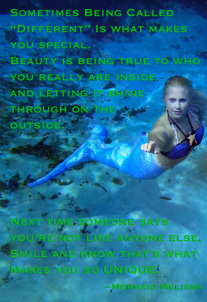 mermaid melissa hands inspirational quote