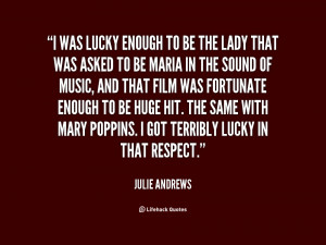 Julie Andrews Sound Of Music Quotes