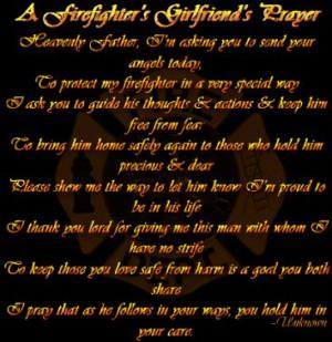 my boyfriend a firefighter quote | My Life as a EMT Girlfriend ...