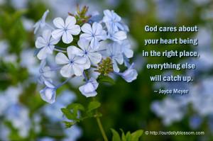 Spiritual Quote – Joyce Meyer