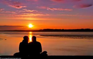 Sunset Lovely Wallpaper Girlfriend Love Wallpaper