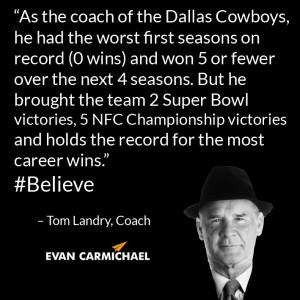 Dallas Cowboys Tom Landry