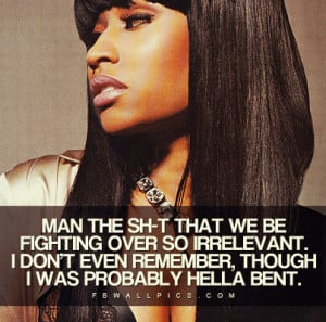 nicki minaj quotes about friends