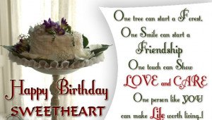 Happy Birth Day Quotes for Husband from Wife in English:
