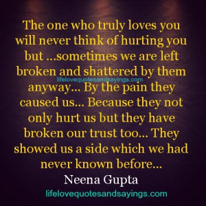 The One Who Truly Loves You..