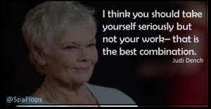 Judi Dench- Best Actress Nominee 2014