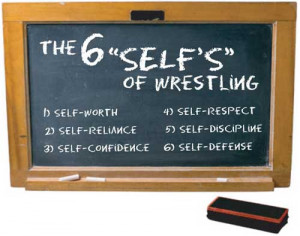 College Wrestling Quotes Wrestling prepares a boy to