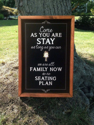 Personalized Framed Wedding/PartyChalkboard by TimberAndType, $40.00