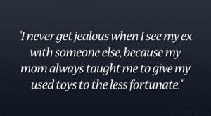 Jealous Ex Boyfriend Quotes