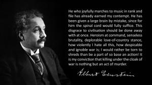Description He who joyfully marches - Albert Einstein.jpg