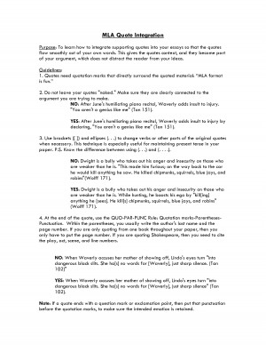 Help with quoting in a research paper?