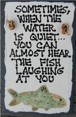 sometimes funny fishing sign