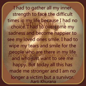had to gather all my inner strength.. By www.lifelovequotesandsayings ...