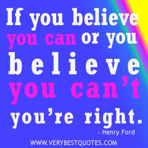 positive thinking quotes Henry Ford