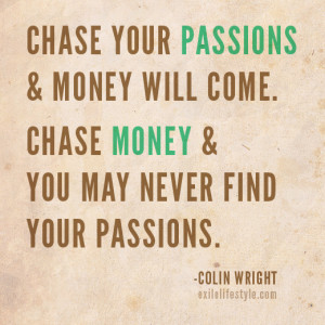 Instagram Money Quotes Chase your pas... instagram