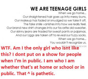 stupid girls dumb teenagers lol wtf no just stop idiots duh funny