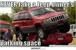 Parking Jeeps