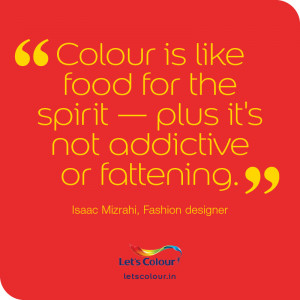 Colour quotes: Food for the spirit