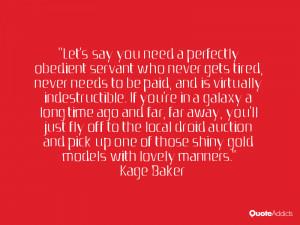 Kage Baker