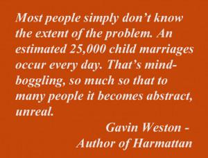Quotes Regarding Child Marriage