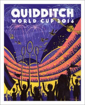 Quidditch poster.