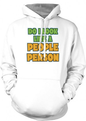 Do I Look Like A People Person - Funny Quote Kids Hoodie £29.99