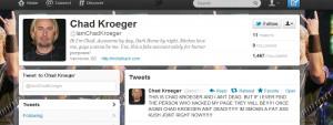 Chad Kroeger Died