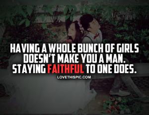 Staying Faithful