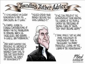 thomas jefferson quotes cartoon