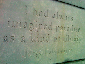Denver Public Library cornerstone quote