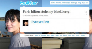 ... day, but Lily Allen is having a worse one. [ Twitter/LilyRoseAllen