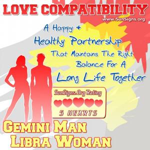 Gemini Man And Libra Woman