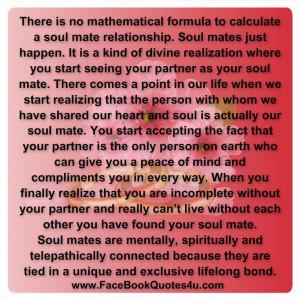 My soulmate is my sinta NIK BAKER.facebook everyday quote saying ...
